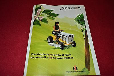International Harvester Cub 182 282 382 482 582 Tractor Dealers Brochure YABE4