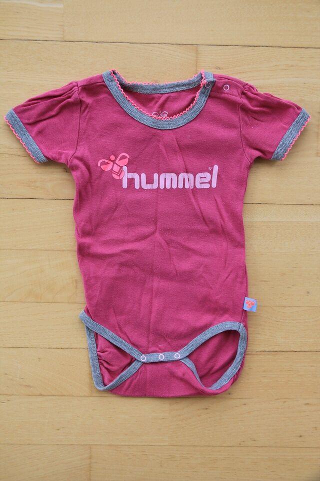 Bodystocking, body med kort ærme, Hummel