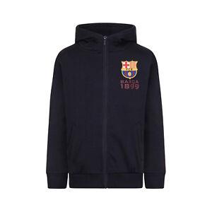 e06500830 Image is loading FC-Barcelona-Official-Football-Gift-Boys-Fleece-Zip-