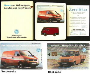 VW-Bus-T4-Wiking-Set-1-87-T4-Transporter-mit-Telefonkarte-limitiert