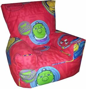 Image Is Loading Chuggington Bean Bag Chairs Kids Character Sofa Beanbags
