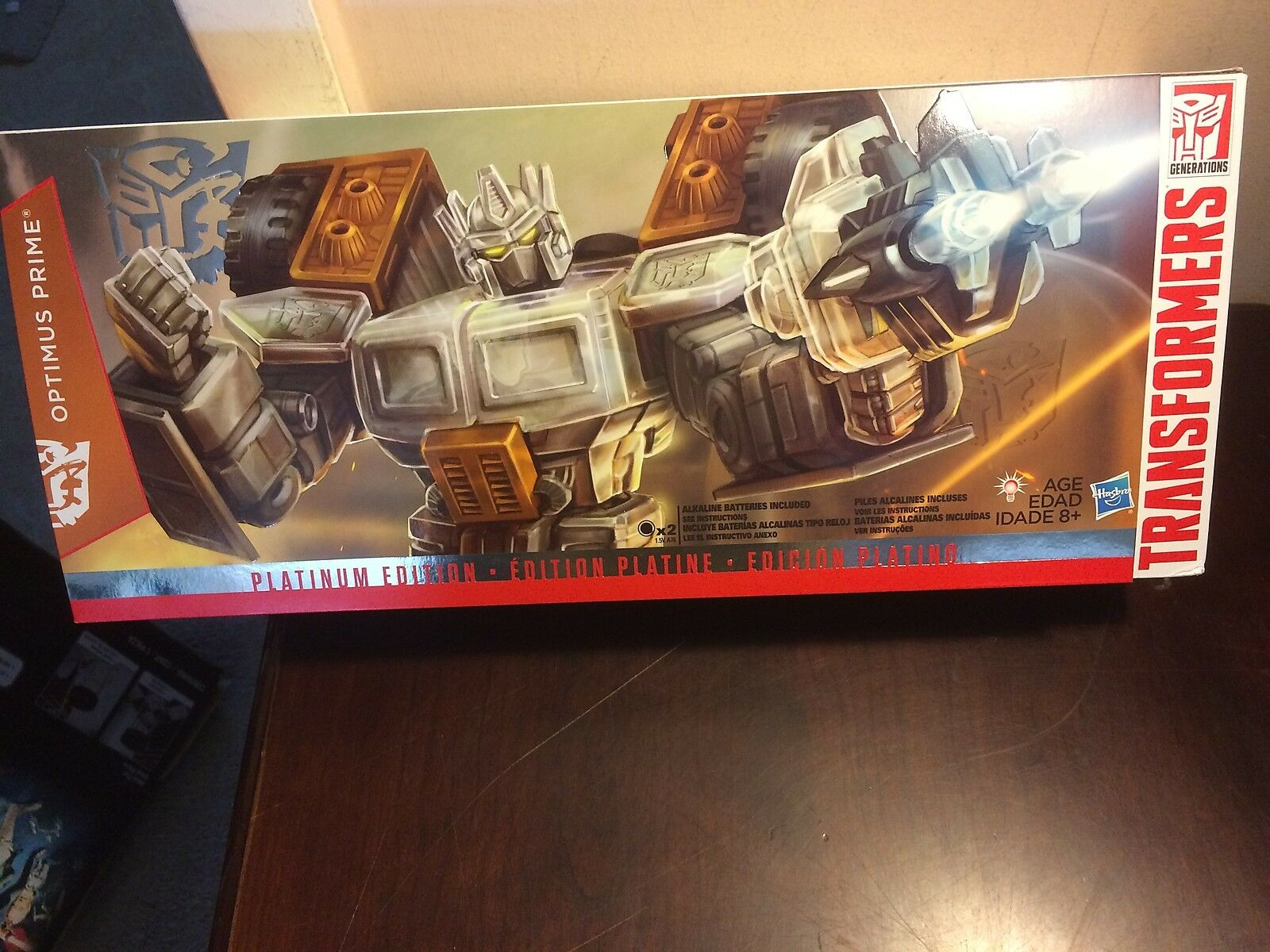 Transformers Platinum Edition Optimus Prime 2015 Año de la cabra NEW L @ @ K