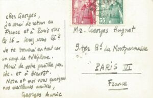 Georges-AURIC-Carte-autographe-signee-a-Georges-HUGNET