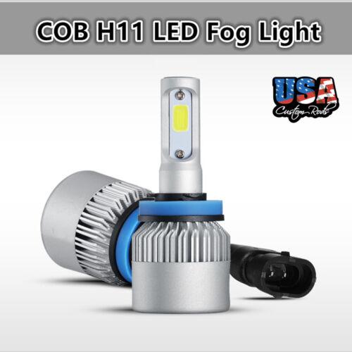 US 2x H11 White 30W COB LED Car Fog Light Bulbs Kit For 11-14 Infiniti G37 Sedan