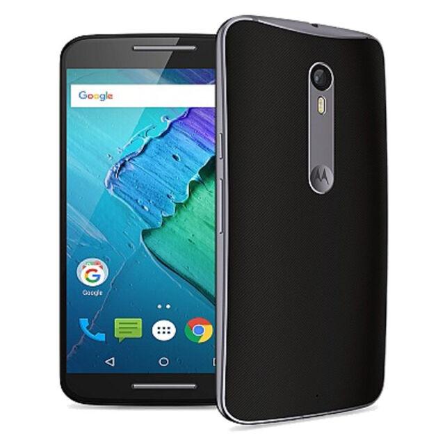 Motorola Moto X Pure - 16GB - Black/Gray Soft Grip (Unlocked) Smartphone - VGC