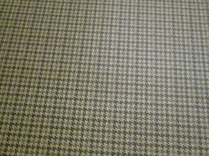 7 3 4 Yds X 55 Of A Hounds Tooth Pattern Vintage Vinyl Upholstery