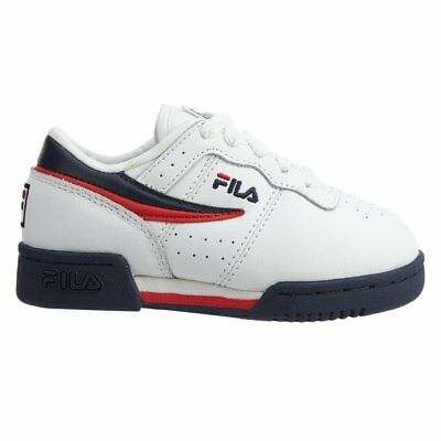 Fila Original Fitness 7VF80105-460 Navy//Red Leahter Toddler Shoes