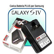 CARICABATTERIE ALIMENTATORE BASE da tavolo per BATTERIE Samsung GALAXY S4 i9500