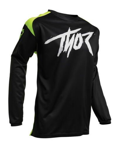 Small Thor MX Motocross Sector Link Jersey S Acid//Black