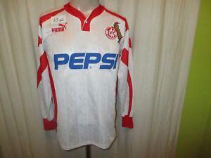 1-FC-Koeln-Original-Puma-Langarm-Heim-Trikot-1993-94-034-PEPSI-034-Gr-S-TOP