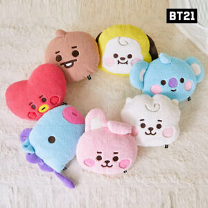 BTS BT21 Official Authentic Goods Baby Boucle Cushion + Tracking Number
