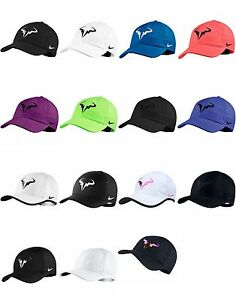 Brand NEW with Tags Authentic  NIKE RAFA NADAL Hat Cap  UNISEX Twill ... d1c75dc742c