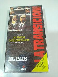 Primeras-Cortes-Democraticas-La-transicion-Espanola-RTVE-VHS-Cinta-Tape-Nueva
