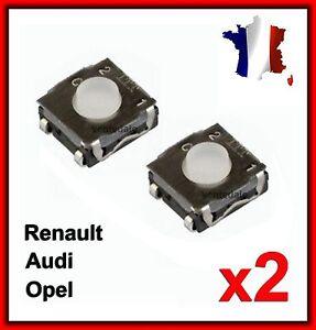2-Interrupteur-Switch-Bouton-Plip-Cle-Renault-Clio3-MODUS-TWINGO-2-MASTER-TRAFIC