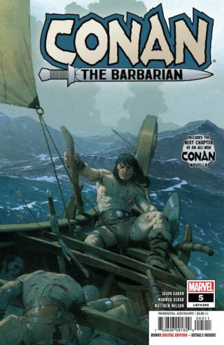 2019 CONAN THE BARBARIAN #5 Marvel Comics