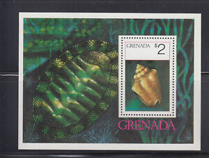 Grenada-1975-Sea-Shells-Sc-659-MS-Complete-Mint-Never-Hinged