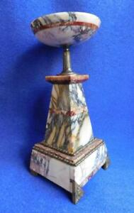 Beautiful-Mixed-Stone-Mantle-Piece-Candle-Holder-from-Garniture-1900s-Art-Deco