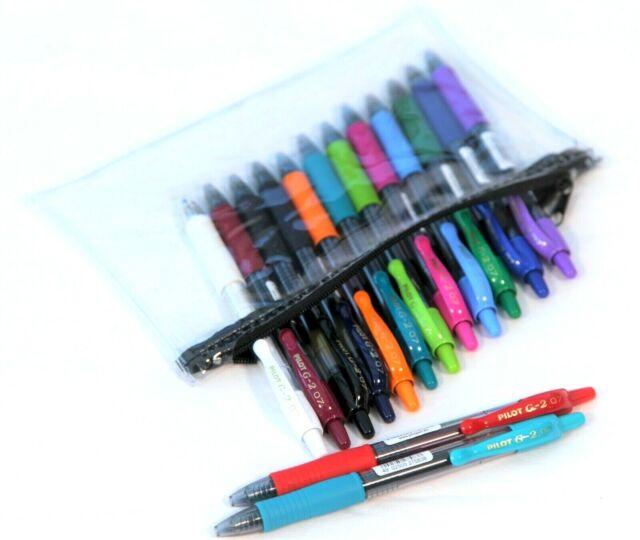 color negro 10 unidades superficie de agarre PILOT-Lote de 3 bol/ígrafos de tinta de gel de recambio G2