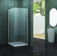 Duschkabine CASA 80 x 80 x 190 cm Glas Duschtür Dusche Duschabtrennung Duschwand