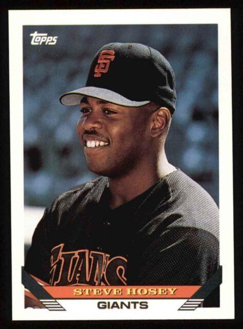 1993 Topps #653 Steve Hosey Giants NM/MT
