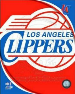 """Los Angeles Clippers NBA Team Logo Composite Photo (8"""" x 10"""")"""