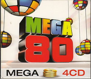 Compilation-4xCD-Mega-80-France-EX-EX