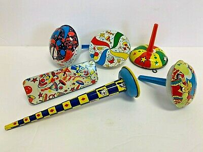 Lot of Vintage Party New Years tin litho Noise makers