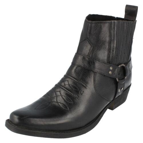 R26b Maverick A3r003 Cowboy Kett Bottes Noir Cuir qXxBwgrX6v