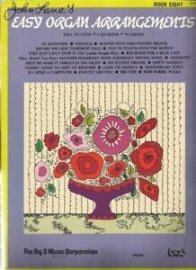 Details about John Lane's Easy Organ Music Arrangements 18 Rock Pop Songs  60's - Early 70's