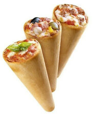 Aprenda A Hacer Pizzas En Conos