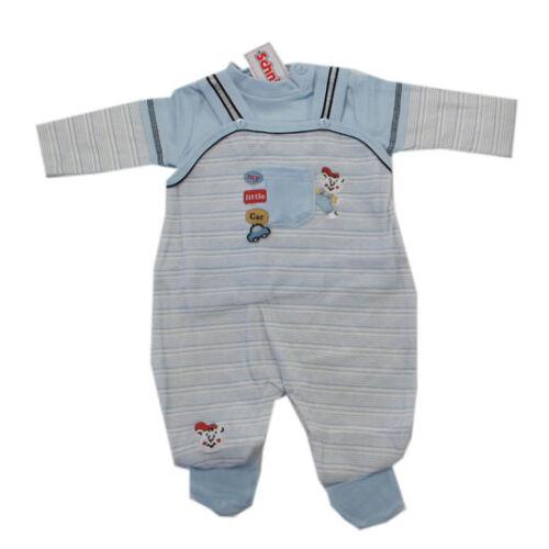 Schnizler Babyanzug Hose Shirt Strampler-Set Zweiteiler Jungen Baby Nicky Gr.62