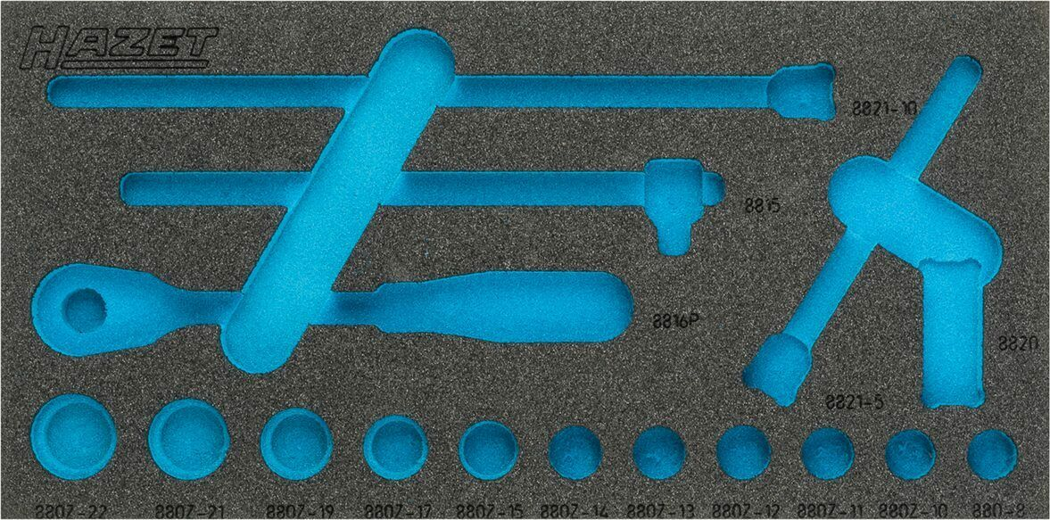 HAZET 2-component soft foam insert 163-335L
