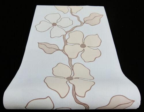 """1 Rôle moderne nappes papier peint /""""Orig Esprit Home/"""" Fleurs Design Papier Peint 1409-37"""