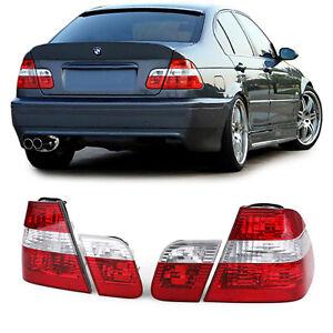 Facelift-Rueckleuchten-rot-klar-fuer-BMW-3ER-E46-Limousine-01-05