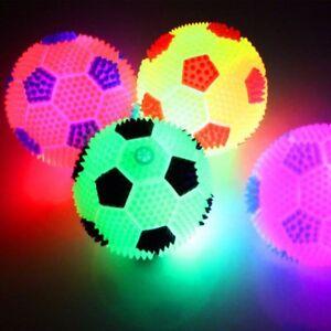Fussball-Leuchtball-Springball-LED-Licht-Flummi-Kindergeburtstag-Party-Mitgebsel