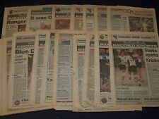 1992-1999 THE TIMES HERALD MIDDLETOWN NY NICE SPORT SECTIONS LOT OF 88 - NP 1831