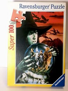 RARE-Ravensburger-Wicked-Witch-Of-The-West-Wizard-of-Oz-100-pc-Puzzle-Complete