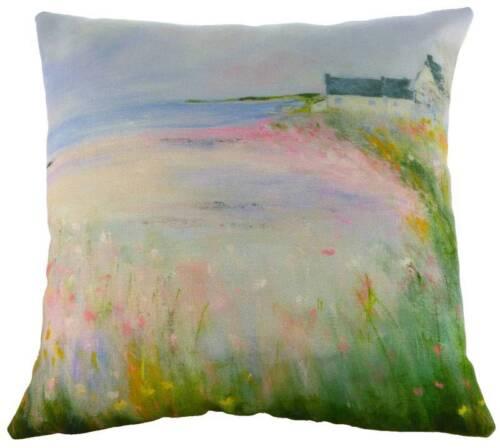 """17/"""" fleurs par la mer sue Fenlon coussin evans lichfield DP978 43cm plage mer"""