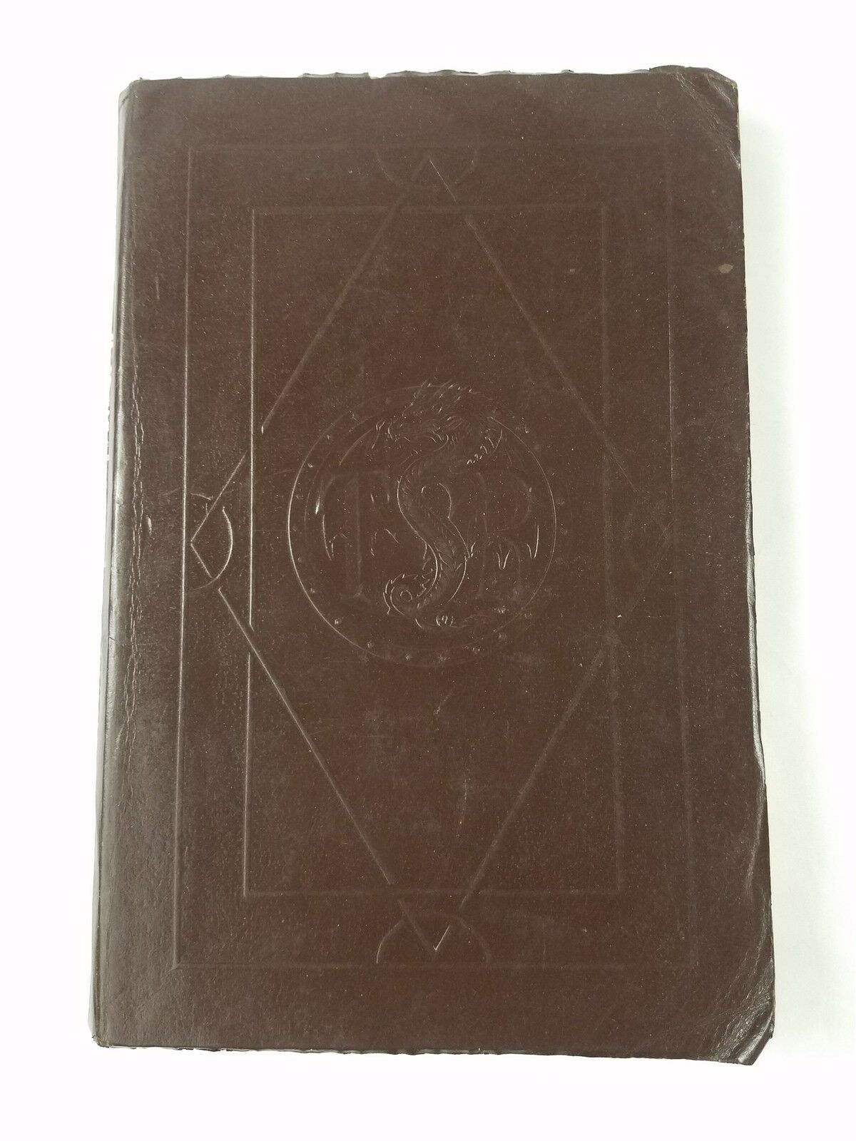 AD&D ENCYCLOPEDIA MAGICA VOLUME 1 LEATHERETTE VGC+ 1ST PRINT REFERENCE BOOK
