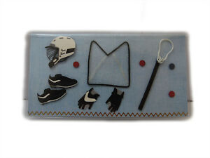 lacrosse checkbook cover debit card holder check register and photo