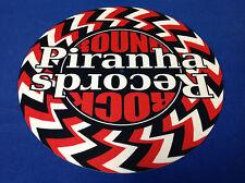 Official Piranha Records Psych Swirl DJ Turntable Slipmat Glazed High Quality