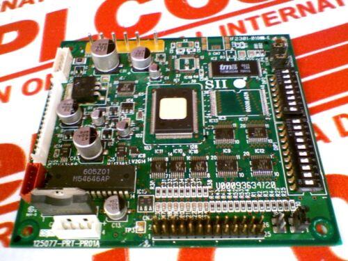 USED TESTED CLE SEIKO INSTRUMENTS /& ELECS LTD 125077-PRT-PR01A 125077PRTPR01A