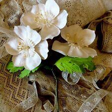 per 1 Vintage Hat Millinery Floral Flowers Hats Bridal Dolls Doll Wedding Decor