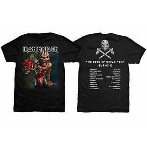Iron-Maiden-Book-Of-Souls-European-Tour-2016-T-Shirt-S-M-L-XL-2XL-Neu
