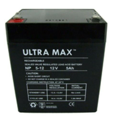 Ultramax 12V 5AH( 4.5AH) AGM/GEL Rechargeable Battery for Mountfield Lawn Mower