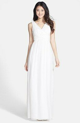 Modcloth Wedding Dress.Modcloth Grand Guest Donna Morgan Julie Wedding Dress White Lily Size 14 Nwt Ebay