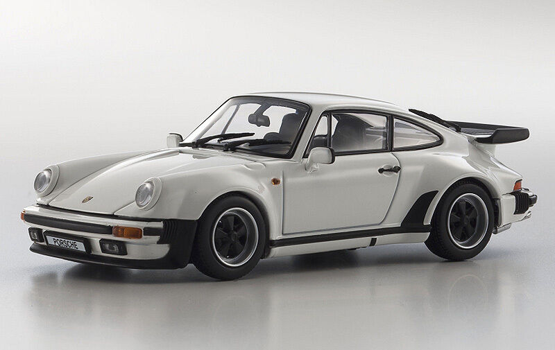 Kyosho 1 43-scale 1975 porsche 911 turbo 3.3l in weiß - 05525w