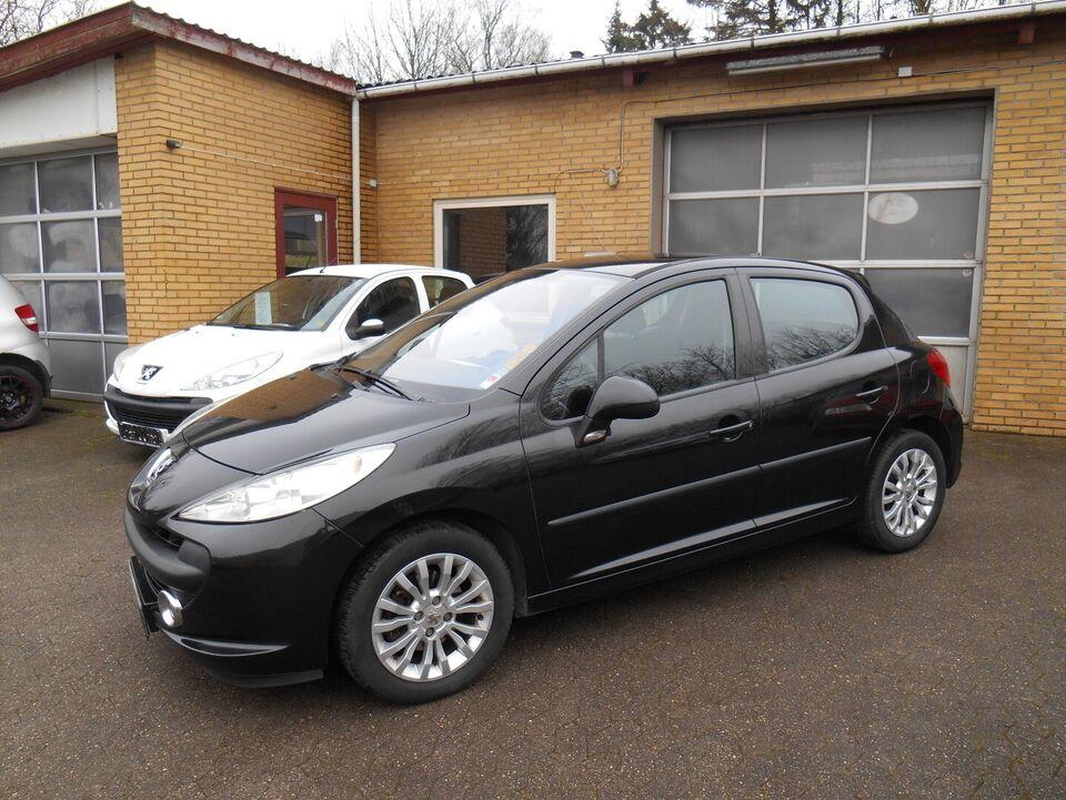 Peugeot 207 1,6 S16 Benzin modelår 2007 km 121000 nysynet 1