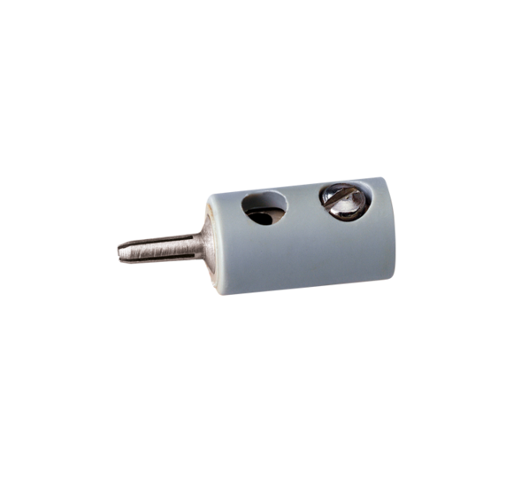 V001-10 piece cap 2,6mm hole cross miniature connector banana plug