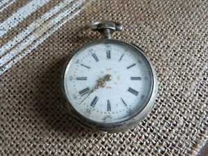 ancienne montre gousset en argent a restaurer